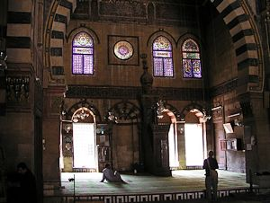 Interior of the Mosque of Sultan Qua'it Bay