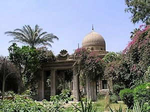 the Tawfik mausuleum in the city of the dead