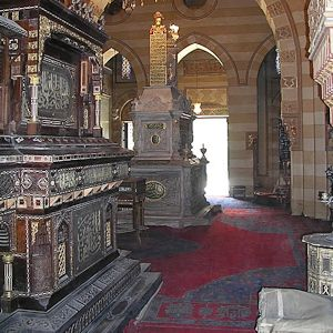 Tomb of Khedive Twafik and Bambah Qadin