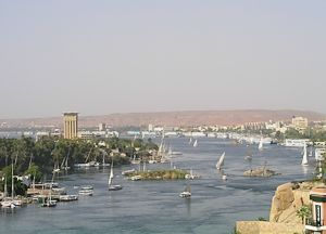 view over Aswan