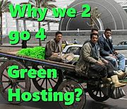 Why we too go for Green Hosting