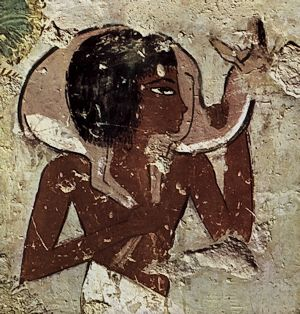 detail from the tomb of Menna in Luxor