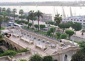 Winter Palace terrace by the Nile
